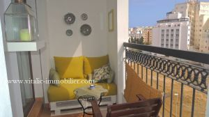 AGREABLE APPARTEMENT MEUBLE 2/3 CHAMBRES